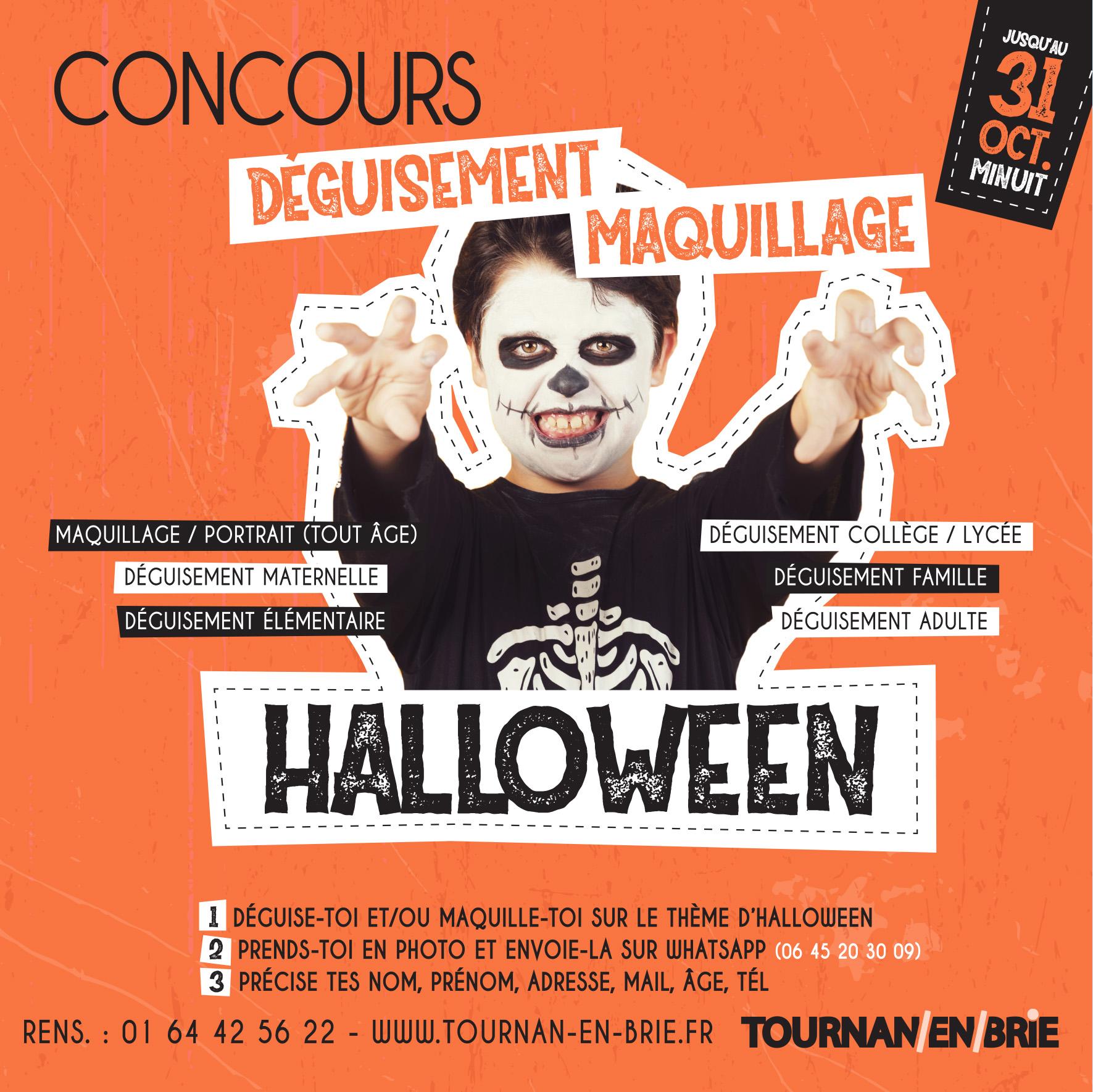 Halloween: concours!