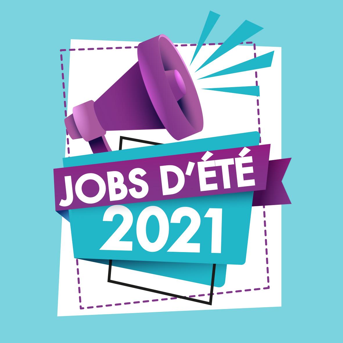 ENVOYEZ VOTRE CANDIDATURE POUR LES JOBS D'ÉTÉ 2021