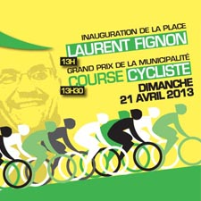 Inauguration de la Place Laurent Fignon