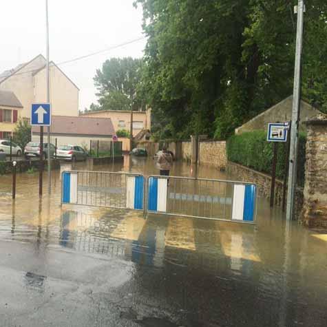 Inondations: état de catastrophe naturelle