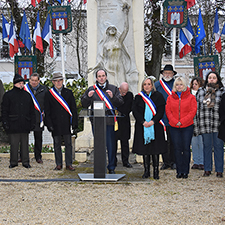 Commémoration du bombardement de Tournan