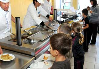 Restauration scolaire et menus