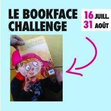 PARTICIPEZ AU BOOKFACE CHALLENGE
